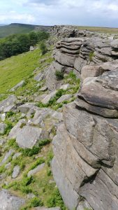 Stanage Edge rocks