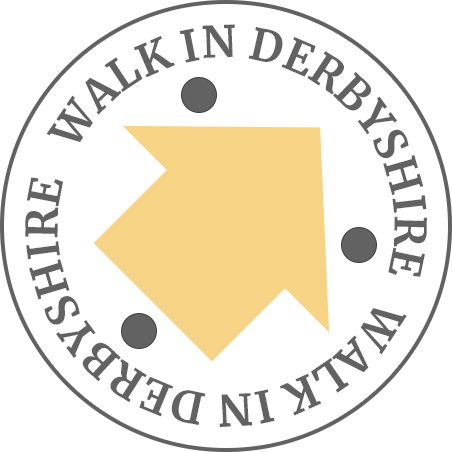 Walk In Derbyshire logo