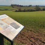 Rolling fields near Risley